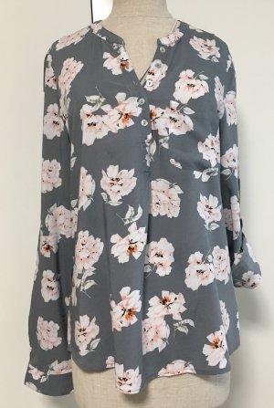 Hübsche Bluse mit Blumen Muster