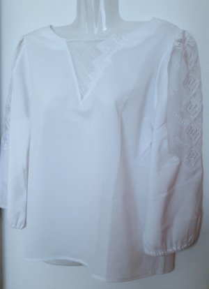 Lace Blouse white polyester