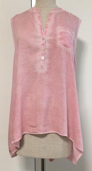 Hübsche Bluse Rose mit transparenten Rücken