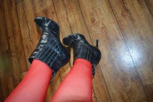 Buffalo Slip-on Booties black