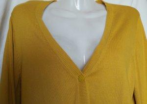 Hübsche Cardigan Jacke in gelb