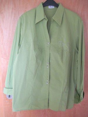 Hübsche Damen Bluse  Gr. 46, grün
