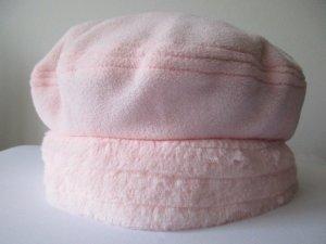 Hübsche Damen Wintermütze Mütze Kappe Plüsch Pelzmütze Webpelz Rosa Hellrosa
