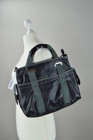 Hübsche Esprit Tasche in dunkelgrau und grün