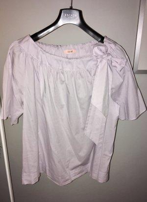Hübsche fliederfarbene Bluse