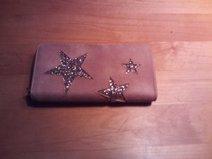 Wallet sand brown synthetic material