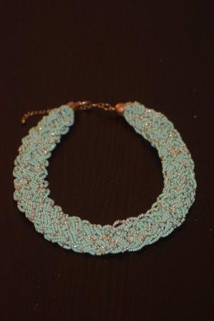 Hübsche grüne Halskette
