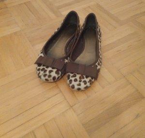 Hübsche Leopardenfell Ballerinas