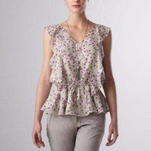 Hübsche luftig leichte Bluse von 3Suisses Gr.32 NEU!
