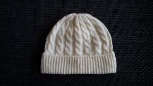 C&A Knitted Hat natural white