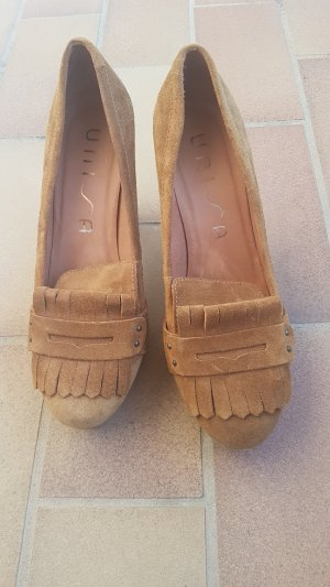 Unisa Pumps light brown