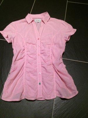 Hübsche rosa Bluse Größe 38