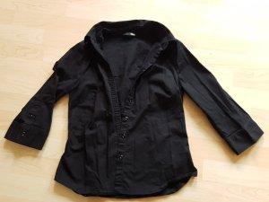 Hübsche schwarze Bluse