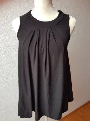 Hübsche, schwarze Bluse; Gr. 36/S