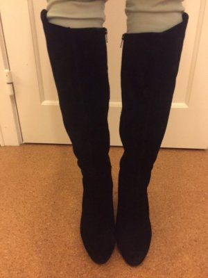 Hübsche schwarze Stiefel gr. 41