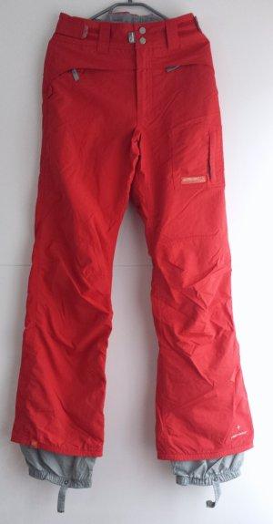 Protest Pantalon de ski rouge-rouge brique