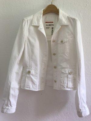 Prada Denim Jacket white cotton