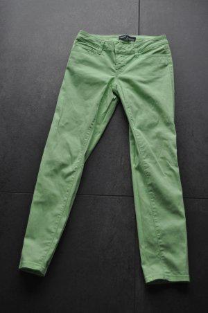 Arizona Pantalón de cinco bolsillos verde pradera Algodón
