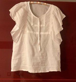 Slip-over blouse wit