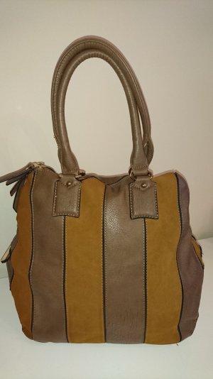 Handbag brown-cognac-coloured