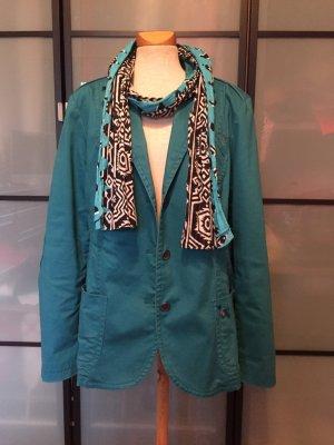 Bonita Outdoor jack neon blauw