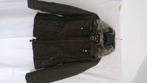 Reset Fifty Seven Veste mi-saison brun foncé-brun noir tissu mixte