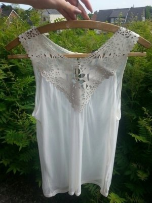 Hübsche weiße Bluse/Top