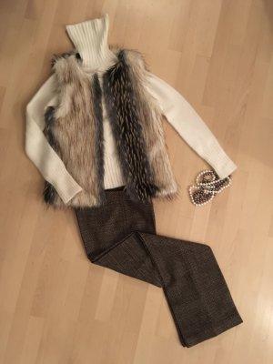 Hübsche Weste aus Kunstfell Fake Fur