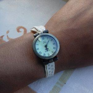 Orologio analogico bronzo-beige chiaro