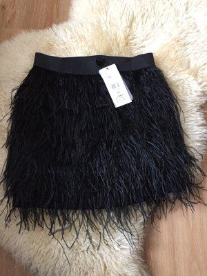 Hübscher Federrock in schwarz