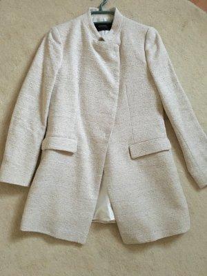 Hübscher heller Mantel von Zara in Größe L *wie neu*
