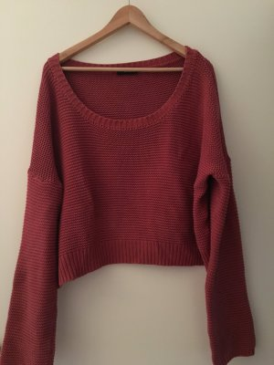 24Colours Sweater raspberry-red cotton