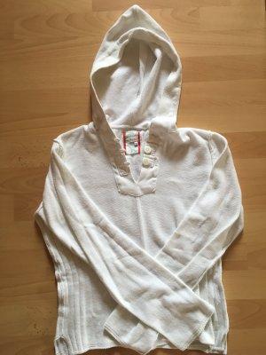 Murphy & nye Maglione con cappuccio bianco Cotone