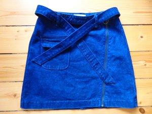 Hübscher Jeansrock, dunkelblau, Gr. 36 S, neu