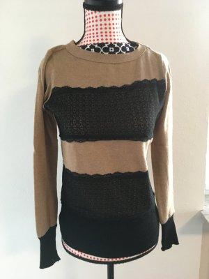 Hübscher Pulli in schwarz/braun