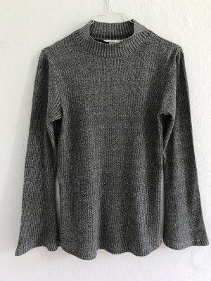 Neu Pullover von H&M mit Glitzer Silber gr.S, gr.36