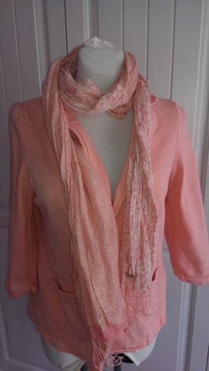 Hübscher rosa-weiss farbener Schal von OPUS, 2 verschiedene Muster, TOP