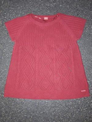 s.Oliver Camisa tejida rojo
