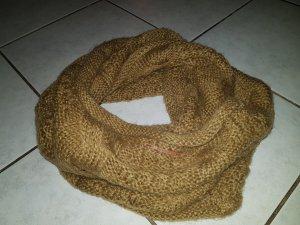 Hübscher Schal Opus - ocker - einmal getragen