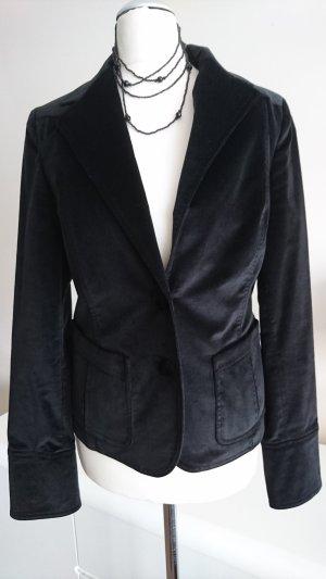 Hübscher schwarze Samt Blazer von Beymen Club in Gr 38