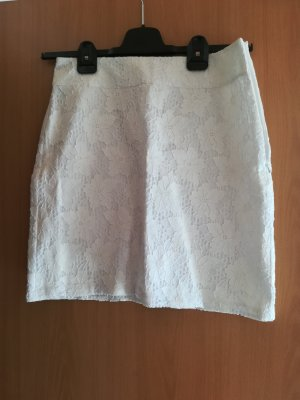 s.Oliver Lace Skirt white cotton