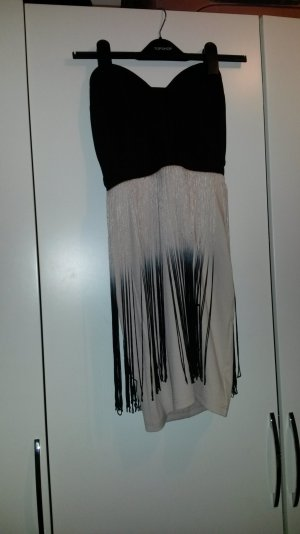 Hübsches Bandeau Kleid im Ombre Look v. Lipsy