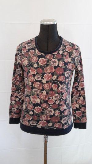 Hübsches Blumenprint Sweatshirt