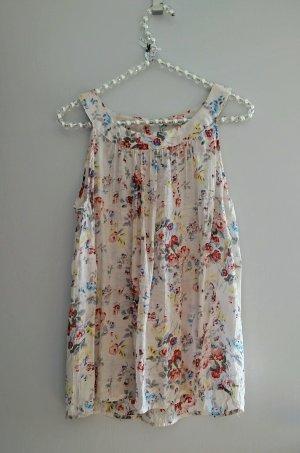 Hübsches Blusentop mit Blumenprint für Sommer