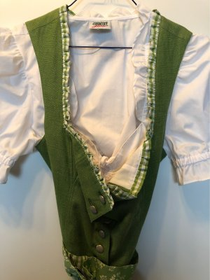 Berwin & Wolff Dirndl green-white cotton