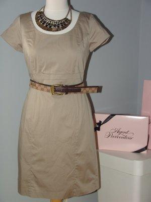 °°°Hübsches H&M Etui, Business Kleid, Beige, Pin up, 38,neuwertig°°°