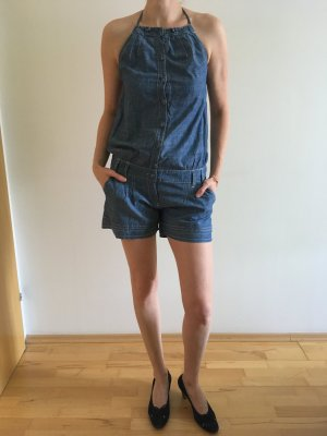 Promod Tuta blu fiordaliso-blu acciaio Cotone