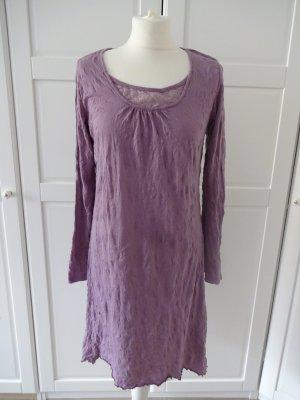 b.p.c. Bonprix Collection Longsleeve Dress mauve mixture fibre