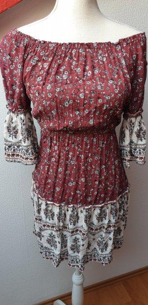 Hübsches Off-Shoulder Kleid; Gr. 36