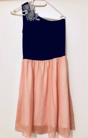 Even & Odd One Shoulder Dress multicolored